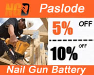 Paslode nail guns batteries